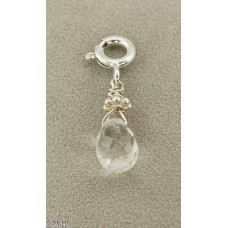 Crystal Droplet (925 Silver)